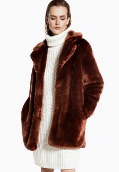 Шуба, Ivyrevel, цвет: коричневый. Артикул: IV006EWFYTC2. Одежда / Верхняя одежда / Шубы и дубленки