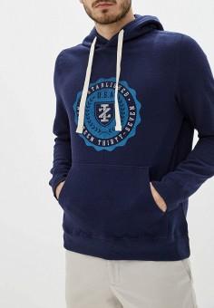 Худи, Izod, цвет: синий. Артикул: IZ003EMFNMZ6. Одежда / Толстовки и олимпийки / Худи