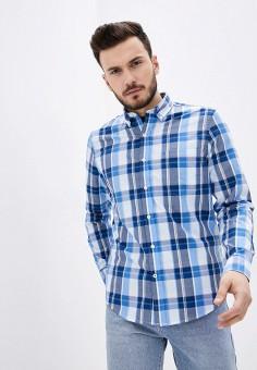 Рубашка, Izod, цвет: синий. Артикул: IZ003EMHPBH8. Одежда / Рубашки / Рубашки с длинным рукавом