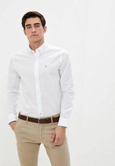 Рубашка, Izod, цвет: белый. Артикул: IZ003EMKESY9. Одежда / Рубашки / Рубашки с длинным рукавом