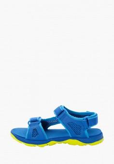 Сандалии, Jack Wolfskin, цвет: синий. Артикул: JA021ABIEQX4.