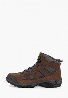 Ботинки трекинговые, Jack Wolfskin, цвет: коричневый. Артикул: JA021AMGGCY3.