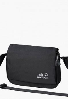 Сумка, Jack Wolfskin, цвет: черный. Артикул: JA021BWINKD2.