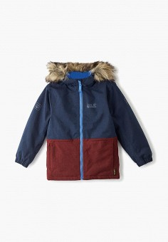 Куртка утепленная, Jack Wolfskin, цвет: синий. Артикул: JA021EGFQDB0.