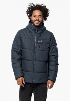Куртка утепленная, Jack Wolfskin, цвет: синий. Артикул: JA021EMGGCE5.