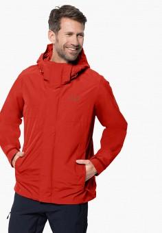 Куртка, Jack Wolfskin, цвет: красный. Артикул: JA021EMINKI1.