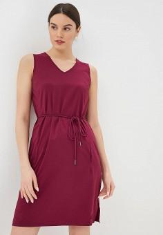 Платье, Jack Wolfskin, цвет: бордовый. Артикул: JA021EWDZMR3.