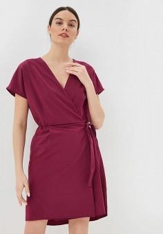 Платье, Jack Wolfskin, цвет: бордовый. Артикул: JA021EWDZMR5.