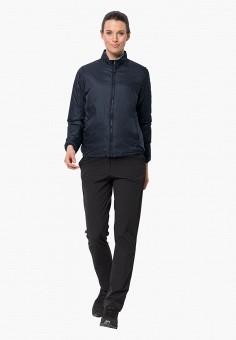 Куртка утепленная, Jack Wolfskin, цвет: синий. Артикул: JA021EWGGCT4.