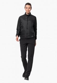 Куртка утепленная, Jack Wolfskin, цвет: черный. Артикул: JA021EWGGCT5.