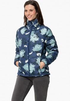 Куртка утепленная, Jack Wolfskin, цвет: синий. Артикул: JA021EWGGCT6.
