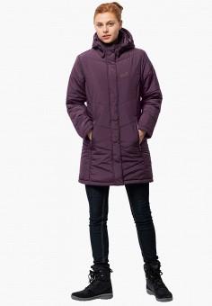 Куртка утепленная, Jack Wolfskin, цвет: бордовый. Артикул: JA021EWGGCU1.