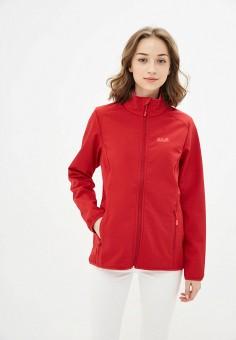 Куртка, Jack Wolfskin, цвет: красный. Артикул: JA021EWINKM2.