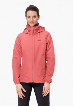 Куртка, Jack Wolfskin, цвет: розовый. Артикул: JA021EWINKM4.