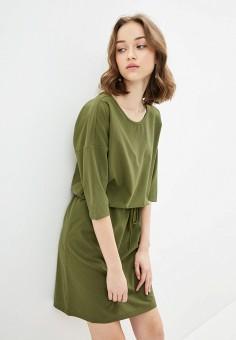 Платье, Jack Wolfskin, цвет: хаки. Артикул: JA021EWINKN1.