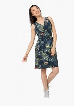 Платье, Jack Wolfskin, цвет: синий. Артикул: JA021EWINKP6.