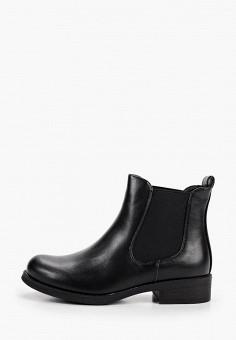 Ботинки, Janessa, цвет: черный. Артикул: JA026AWKEHY6. Обувь / Ботинки / Челси