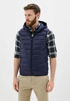 Жилет утепленный, Jackets Industry, цвет: синий. Артикул: JA036EMJIPL6. Одежда / Верхняя одежда / Жилеты