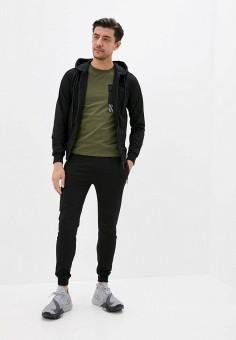 Костюм спортивный, Jackets Industry, цвет: черный. Артикул: JA036EMJJQS8. Одежда / Спортивные костюмы