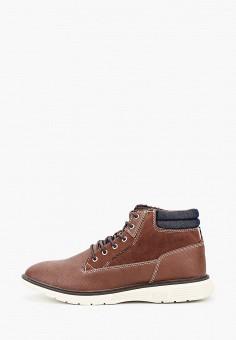 Ботинки, Jack & Jones, цвет: коричневый. Артикул: JA391AMFSRX6. Обувь / Ботинки