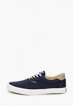 Кеды, Jack & Jones, цвет: синий. Артикул: JA391AMHTDI2. Обувь / Кроссовки и кеды / Кеды