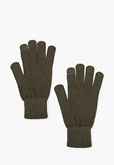 Перчатки, Jack & Jones, цвет: хаки. Артикул: JA391DMFKEB7. Аксессуары / Перчатки и варежки