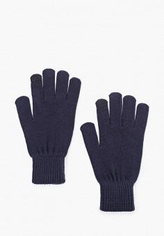 Перчатки, Jack & Jones, цвет: синий. Артикул: JA391DMFKEB9. Аксессуары / Перчатки и варежки