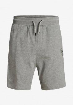Шорты, Jack & Jones, цвет: серый. Артикул: JA391EBJCJX8. Мальчикам / Одежда