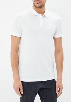 Поло, Jack & Jones, цвет: белый. Артикул: JA391EMAFTG3. Одежда / Футболки и поло / Поло