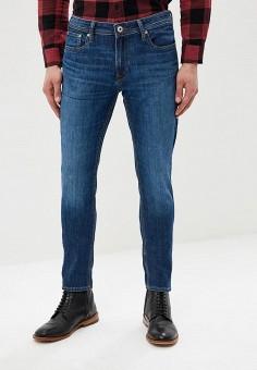 Джинсы, Jack & Jones, цвет: синий. Артикул: JA391EMDNOR0. Одежда / Джинсы / Зауженные джинсы