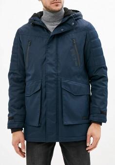 Куртка утепленная, Jack & Jones, цвет: синий. Артикул: JA391EMFYQG2. Одежда / Верхняя одежда / Демисезонные куртки