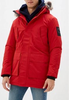 Парка, Jack & Jones, цвет: красный. Артикул: JA391EMFYQK1. Одежда / Верхняя одежда / Парки