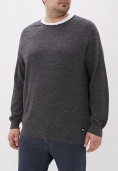 Джемпер, Jack & Jones, цвет: серый. Артикул: JA391EMFYRH5. Одежда / Джемперы, свитеры и кардиганы / Джемперы и пуловеры