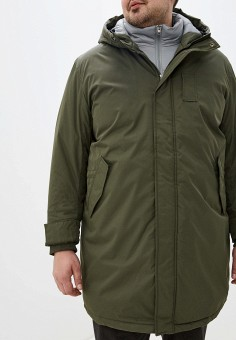 Куртка утепленная, Jack & Jones, цвет: хаки. Артикул: JA391EMFYRI2. Одежда / Верхняя одежда / Пуховики и зимние куртки / Зимние куртки