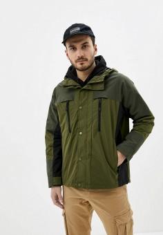 Куртка, Jack & Jones, цвет: хаки. Артикул: JA391EMHSVB2. Одежда / Верхняя одежда / Легкие куртки и ветровки
