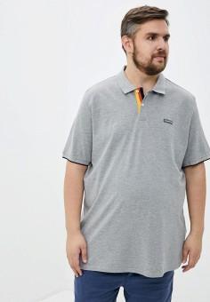 Поло, Jack & Jones, цвет: серый. Артикул: JA391EMIPAC5. Одежда / Футболки и поло