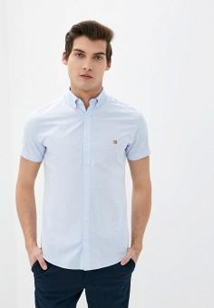 Рубашка, Jack & Jones, цвет: голубой. Артикул: JA391EMJCGK5. Одежда / Рубашки