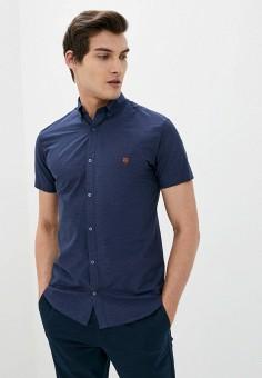 Рубашка, Jack & Jones, цвет: синий. Артикул: JA391EMJCGK6. Одежда / Рубашки
