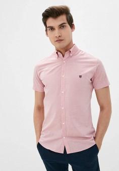 Рубашка, Jack & Jones, цвет: розовый. Артикул: JA391EMJCGK7. Одежда / Рубашки