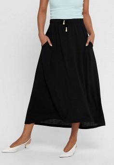 Юбка, Jacqueline de Yong, цвет: черный. Артикул: JA908EWHISP1. Одежда / Юбки
