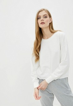 Свитшот, Jacqueline de Yong, цвет: белый. Артикул: JA908EWHITJ7. Одежда / Толстовки и свитшоты