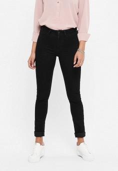Джинсы, Jacqueline de Yong, цвет: черный. Артикул: JA908EWIPIY1. Одежда / Джинсы / Узкие джинсы
