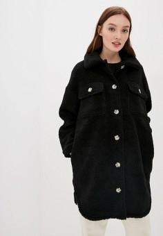 Шуба, Jacqueline de Yong, цвет: черный. Артикул: JA908EWJOZP6. Одежда / Верхняя одежда / Шубы и дубленки