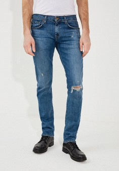 Джинсы, J Brand, цвет: синий. Артикул: JB001EMXFI39. Одежда / Джинсы / Прямые джинсы