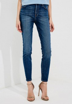 Джинсы, J Brand, цвет: синий. Артикул: JB001EWBPBH7. Одежда / Джинсы / Узкие джинсы