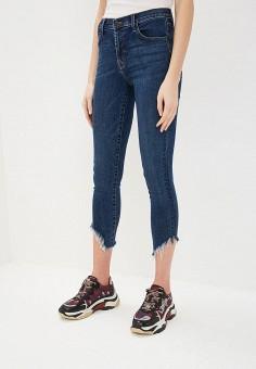 Джинсы, J Brand, цвет: синий. Артикул: JB001EWEKYC5. Одежда / Джинсы / Узкие джинсы