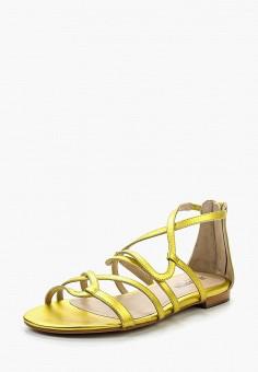 Сандалии, JB Martin, цвет: желтый. Артикул: JB002AWRJC37. Обувь / Сандалии