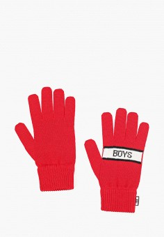 Перчатки, J.B4, цвет: красный. Артикул: JB003DMGSAO8. Аксессуары / Перчатки и варежки
