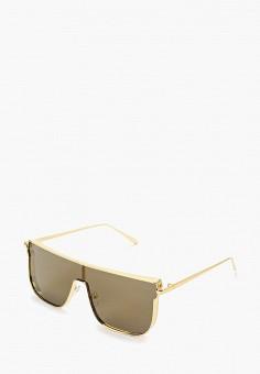 Очки солнцезащитные, Jeepers Peepers, цвет: золотой. Артикул: JE020DUFIOB1. Аксессуары / Очки