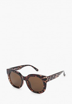 Очки солнцезащитные, Jeepers Peepers, цвет: коричневый. Артикул: JE020DWIWMN7. Аксессуары / Очки